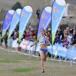 Atleta llegando a meta