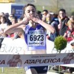 LLegada a meta de Celia Antón