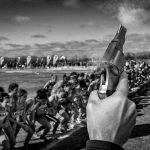 4º premio. Obra: ¡Bang!. Autor: Carlos Bueno.