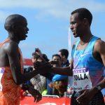 Saludo entre rivales