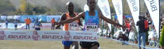Los etíopes Gataneh Molla y Senbere Teferi se adjudican un XIV Cross Atapuerca de récord